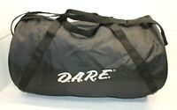 Vintage D.A.R.E. Dare Say No to Drugs Black Travel Gym Duffle Bag Weekender guc