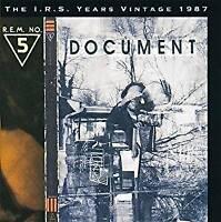 R.E.M. - Document (NEW CD)