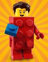 LEGO Series 18 BRICK SUIT GUY Minifigure (#02/17) - Bagged 71021