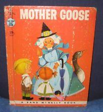 """MOTHER GOOSE"" 1958 - hb/pc - Tip Top Elf Book"