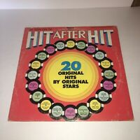 RONCO HIT AFTER HIT- 20 Hits from Original Stars!-Vinyl LP Album