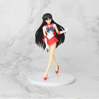 Sailor Moon Sailor Mars Rei Hino Action Figures Toy Cake Topper Home & Car Decor