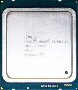 Intel Xeon E5-2630L V2 (SR1AZ) 2.40GHz 6-Core LGA2011 CPU