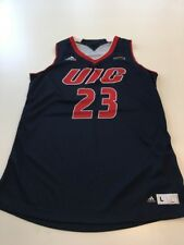Game Worn Used Jersey UIC Flames Illinois Chicago Basketball Women's Large #23