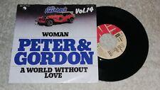 Peter & Gordon - Woman    Vinyl  Single Oldie Flashback Vol. 14