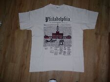 Philadelphia 1990 Declaration of Independence Congress T-Shirt men's size-Large