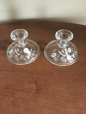 Avon Hummingbird Candle Holders Set Of 2 Free Shipping!