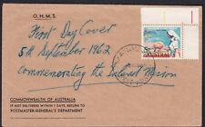 1962 Inland Mission Nurse Australia OHMS PMG Postmaster General Dept PINJARRA WA