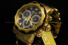 Invicta Specialty Capsule Swiss Ronda Chrono 18K Gold Plated S.S Bracelet Watch