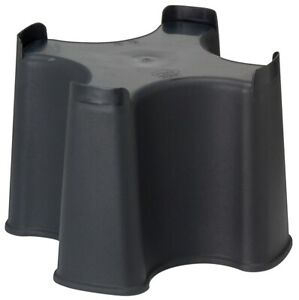 Black Slim Line Water Butt Stand - Fits Various Water Butts