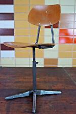 60er Vintage Drehstuhl Schreibtisch Stuhl Architektenstuhl Industriedesign 2