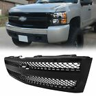 New Body Style Grille For 2007-13 Chevrolet Silverado 1500 Painted Black Plastic