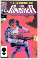 PUNISHER #5, VF/NM, Mike Zeck, Mini Series, 1986, Marvel, more in store