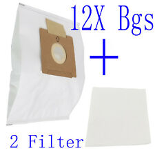 12X Synthetic Dust Bags Fits Wertheim W2000 Cat & Dog Vacuum Cleaner GERMOSTADT
