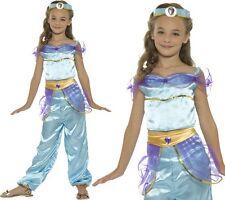 Girls Arabian Princess Fancy Dress Costume Childs Jasmine Outfit by Smiffys