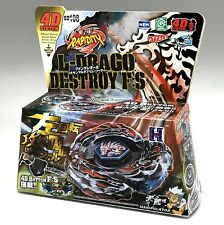 L-Drago Destroy (Destructor) Metal Fury 4D Beyblade BB108 B148 - USA SELLER