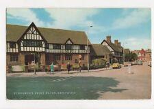 St Andrews Brine Baths Droitwich 1971 Postcard 361a