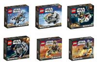 Lego Star Wars 2016 Microfighters Serie 3 75125 75126 75127 75128 75129 75130