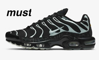 "Nike Air Max Plus "" Black/Black/Limelight"" Men's Trainer All Sizes"