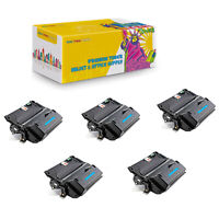 Q5942X Black High Yield Compatible 5-Pack Toner Cartridge For HP LaserJet 4240