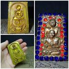 Phra Somdej Real Buddha   Luan Phor Tuad   Garuda amulet Somdet Lp Toh Rakang