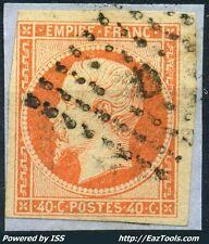 FRANCE EMPIRE N° 16 CACHET D DE BUREAU DE PAIS SUR FRAGMENT