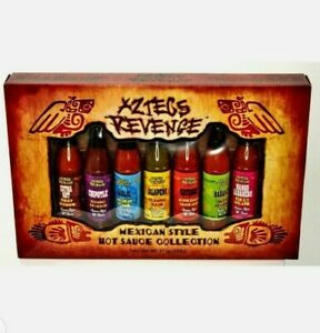 Aztecs HOT Sauce Variety Pack Revenge Mexican Style Gift Collection