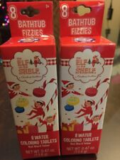 New~ The Elf On The Shelf Bathtub Fizzie Color Tablets X's 2 ~Free Shipping