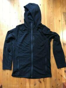 Mens   ICEBREAKER Merino Long Sleeve Zip Hood Jacket   Size M   Rarely USED