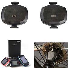 Bike ANT+ Speed & Cadence Sensor Waterproof for Garmin Edge 25 520 800 810 1000