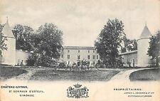 POSTCARD  FRANCE   GIRONDE  Chateau - Livran