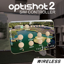 Optishot 2, golf simulator, controller. THE PLAYERS.