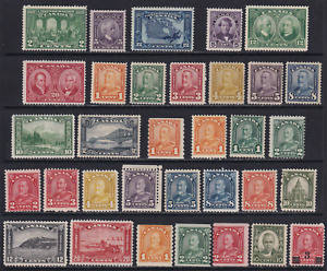 Canada 1927-1932 Unused Stamp Lot  Very HICV