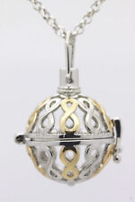 Harmony Ball Pendant Lockets Essential Oil Perfume Diffuser Necklace Eight