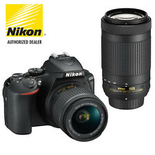 NEW! Nikon D5600 24.2MP DSLR Camera with 18-55mm and 70-300mm Lenses #1580