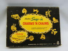 Vintage Hassenfeld Bros.Hasbro Snap-In Charms 'N Chains Toy Plastic Jewelry Set