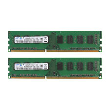 New Samsug 8GB 2X4GB DDR3-1600MHz PC3-12800 240PIN PC12800 Desktop Memory Tested