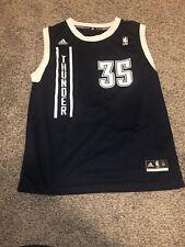 NBA Kevin Durant OKC Oklahoma City Thunder Adidas Basketball Jersey Youth XL