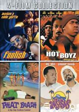 NEW Four-Film Collection (Foolish / Hot Boyz / Phat Beach / The Wash) (DVD)