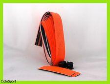 OFFERTA / Nastro coprimanubrio per bicicletta da corsa - Colore Arancio Fluo