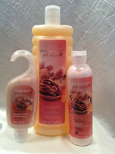 AVON Fall Classics 'Sugar & Walnut' Shower Gel, Body Lotion & Bubble Bath-NEW!