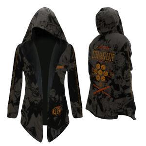Anime Comic Cosplay Windbreaker Jacket Hoodie Fashion Winter Coat Outwear Unisex