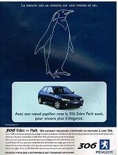 Publicité Advertising 1999 Peugeot 306