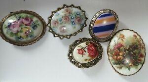 Antique Vintage Limoges Joblot, Vintage Limoges, signed stamped jewellery joblot