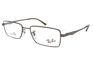 Ray-Ban Eyeglasses RX RB 7517 1077 52-17 Brown Rectangle MemoRay Flexon