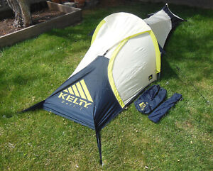 KELTY DART I TENT, LIGHTWEIGHT 1-PERSON w/ VESTIBULE, BACKPACKING, BIKE TOURING