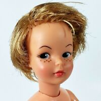 """Vintage IDEAL Pepper Doll Tammy Family 9"""" G-9-W-1 Blonde Nude G9-E Good Cond"""