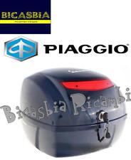 9413 - BAULETTO POSTERIORE 32 LT BLU MIDNIGHT 222/A VESPA 50 125 150 LX