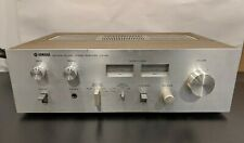Vintage YAMAHA Natural Sound CA-410 Stereo Amplifier Amp ~Powers On ~Wood Case