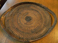 """Native American Basket/Tray -  Woven 15"""" Side To Side Beautiful Quality"""